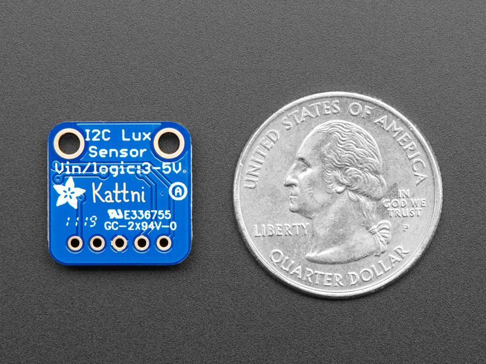 Köp Adafruit VEML7700 Lux Sensor - I2C Light Sensor (4162) för 79 Kr hos  m nu