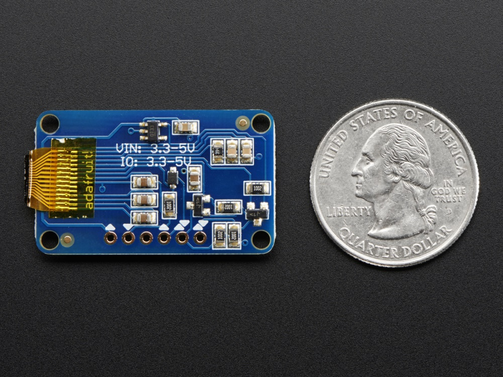 Köp Monochrome 128x32 I2C OLED graphic display (931) för 279 Kr hos m nu