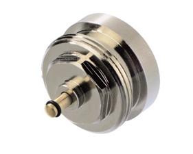 Adapter for mounting Danfoss Living Connect on older TA M28 valves (014G0256 / RSK 4814948 / 4809196)