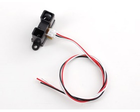 IR distance sensor includes cable (4cm-30cm) - GP2Y0A41SK0F