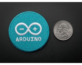 Arduino - Skill badge, iron-on patch (50mm)