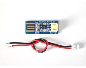 Adafruit Micro Lipo - USB LiIon/LiPoly charger - v1
