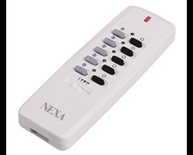 Fjärrkontroll 4/16 kanaler, självlärande, vit - Nexa LYCT-705