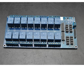 Relay board  5v/logic level operation 16 channels - assembled