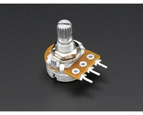 Panel Mount 1kOhm potentiometer (Breadboard Friendly)