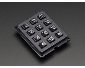 3x4 Phone-style Matrix Keypad