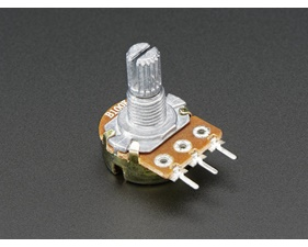Panel Mount 10kOhm potentiometer (Breadboard Friendly)