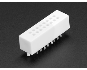 Breadboard Mini Solderless - 2x8 Points