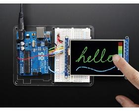 3.5 TFT 320x480 + Touchscreen Breakout Board w/MicroSD Socket