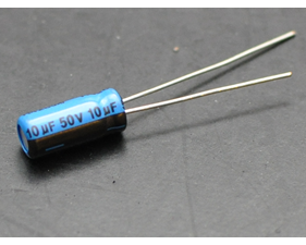 10uF 50V Electrolytic Capacitors - Pack of 10