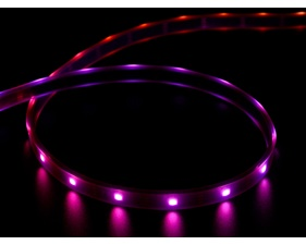 DotStar APA102 Digital LED Strip - Black 30 LED - Per Meter - BLACK
