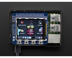 PiTFT 2.2 HAT Mini Kit - 320x240  TFT - No Touch