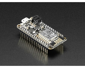 Assembled Adafruit Feather HUZZAH with ESP8266 WiFi With Headers