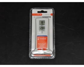 Inne och ute termometer. LCD-display. TellStick- och RFXtrx433E-kompatibel