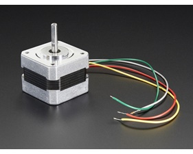 Stepper motor - 200 steps/rev, 12V 350mA