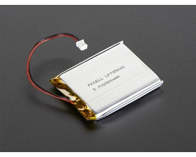 Lithium Ion Polymer Battery - 3.7v 2400mAh