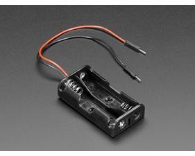2 x AA Battery Holder with Premium Jumper Header Wires