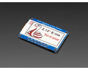 "Adafruit 2.13"" Tri-Color eInk / ePaper Display with SRAM"