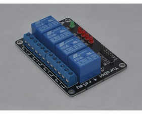 Relay board  5v/logic level operation 4 channels - assembled