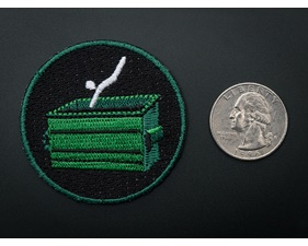 Dumpster Diving! - Skill badge, iron-on patch (50mm)