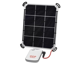 6 Watt Solar Charger Kit inc 4000mAh battery