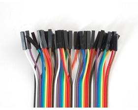 Breadboarding Premium Female/Female Jumper Wires - 40 x 12 (300mm)""