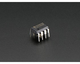 Op Amp - Dual Rail-to-Rail - 2.7-6V power @ 80mA output - TLV2462