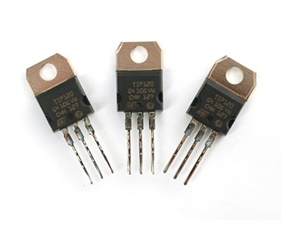 TIP125 PNP Power Darlington Transistors - 3 pack