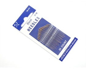 Needle set - 3/9 sizes - 20 needles