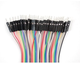 Breadboarding Premium Male/Male Jumper Wires - 40 x 12 (300mm)""