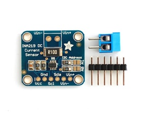 Adafruit INA219 High Side DC Current Sensor Breakout - 26V +3.2A Max