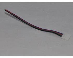 Kontaktdon med kabel till RGB-LED