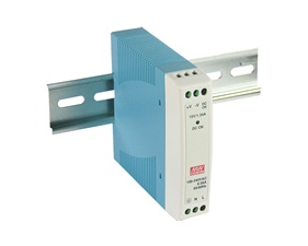 Switchat nätaggregat Din Rail - 5V 2A - Mean Well