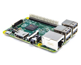 Dator Raspberry Pi 2 - Quad Core CPU and 1GB RAM