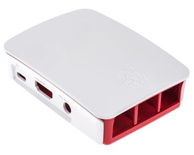 Official Raspberry Pi B+ and Raspberry Pi 2 B Development Board Case - White