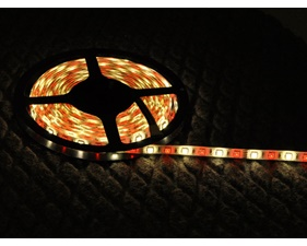 RGBW (Warm White) LED Weatherproof flexi-strip 60 LED/m - (1 m)