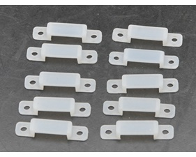 Mounting Brackets silicone to RGBW Led Strip with silicone hose - 10 pack