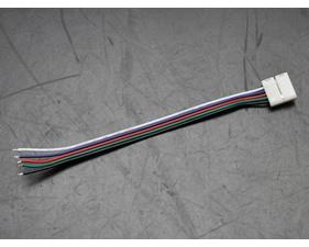 Kontaktdon med kabel till RGBW-LED-slinga