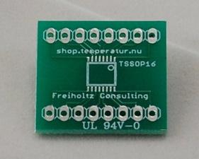 PCB TSSOP16