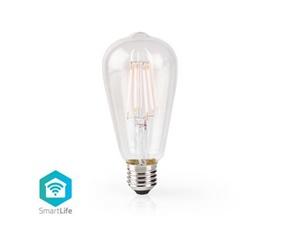 Smart Filamentlampa E27 ST64 - 5W - 500lumen - 2700K