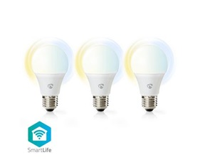 Smart LED-Lampa Ambience E27 - 9W - 800lumen - 3-Pack
