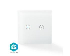 Smart strömbrytare - Dubbel - WiFi