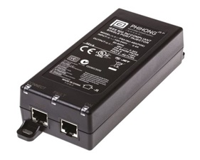 1 Port POE Injector 48V dc Output, 320mA, 15.4W