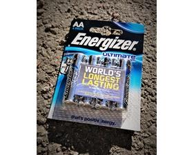 Batteri Lithium AA 1,5V 4-pack