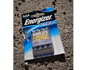 Batteri Lithium AAA 1,5V 4-pack