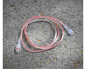 Förlängningskabel 3-polig, vattentäta kontakter - 1m