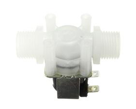 Plastic Water Solenoid Valve - 12V - 1/2 NPT