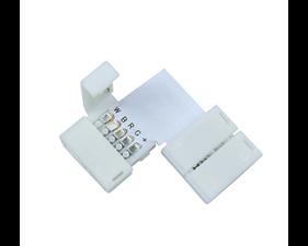 Vinkelskarv för RGBW-LED (5-pin, 10/12mm)