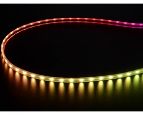 Mini Skinny NeoPixel Digital RGB LED Strip - 60 LED/m (Black PCB) - 1m