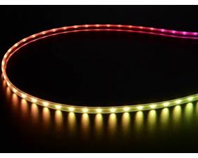 Mini Skinny NeoPixel Digital RGB LED Strip - 60 LED/m (Black PCB) - 1m